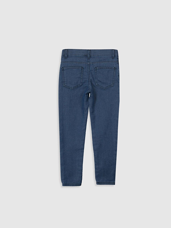 %87 Pamuk %11 Polyester %2 Elastan Aksesuarsız Normal Bel Astarsız Dar Jean Erkek Çocuk Super Skinny Jean Pantolon