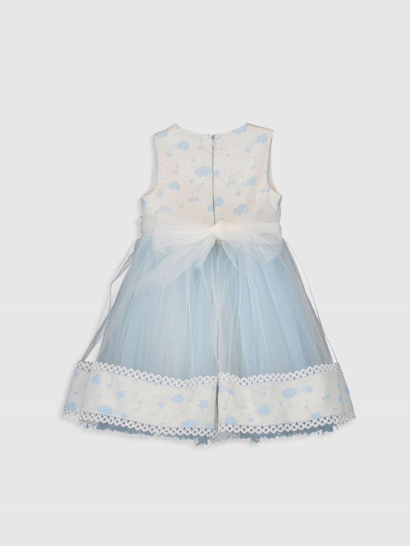 Kız Çocuk Daisy Girl Kız Bebek Desenli Abiye Elbise