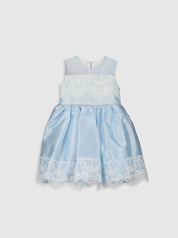 Baskılı Elbise Daisy Girl Kız Bebek Abiye Elbise