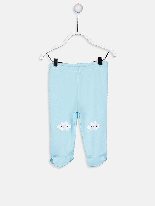 Erkek Bebek Pamuklu Pantolon 2'li