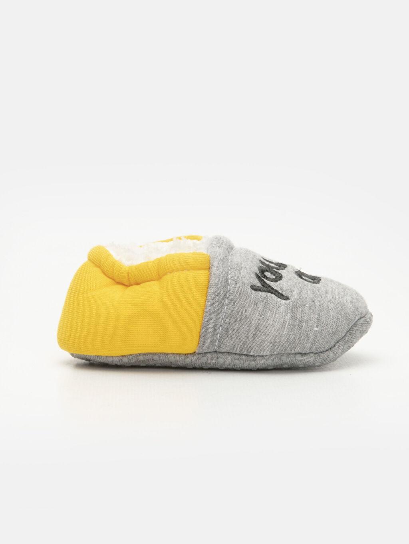 Gri Erkek Bebek Yürüme Öncesi Ayakkabı 9W3187Z1 LC Waikiki