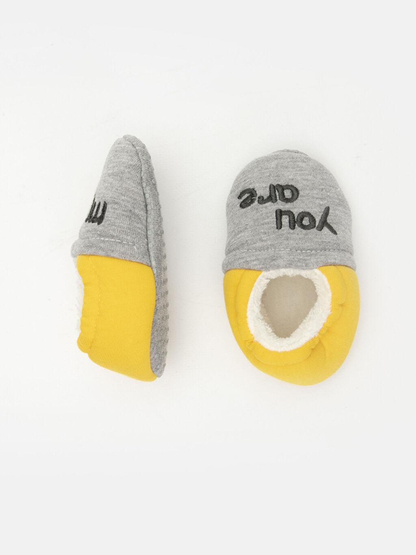%0 Tekstil malzemeleri (%100 pamuk)  %0 Tekstil malzemeleri (%100 pamuk) Bağcıksız Kısa Yürümeyen Erkek Bebek Yürüme Öncesi Ayakkabı