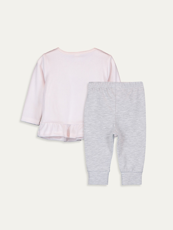 Standart Pijamalar Kız Bebek Kadife Pijama Takımı
