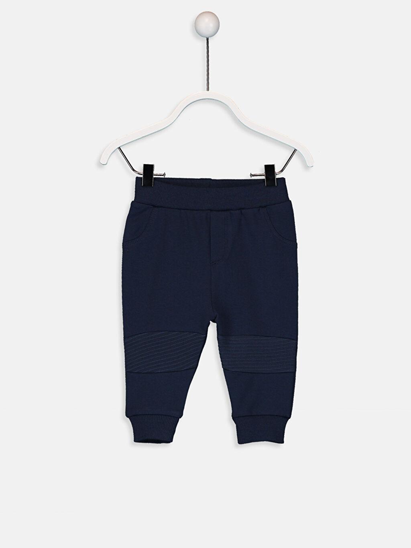 Lacivert Erkek Bebek Jogger Pantolon 9W3773Z1 LC Waikiki