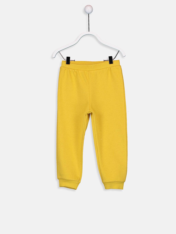 Sarı Kız Bebek Eşofman Alt 9W5162Z1 LC Waikiki
