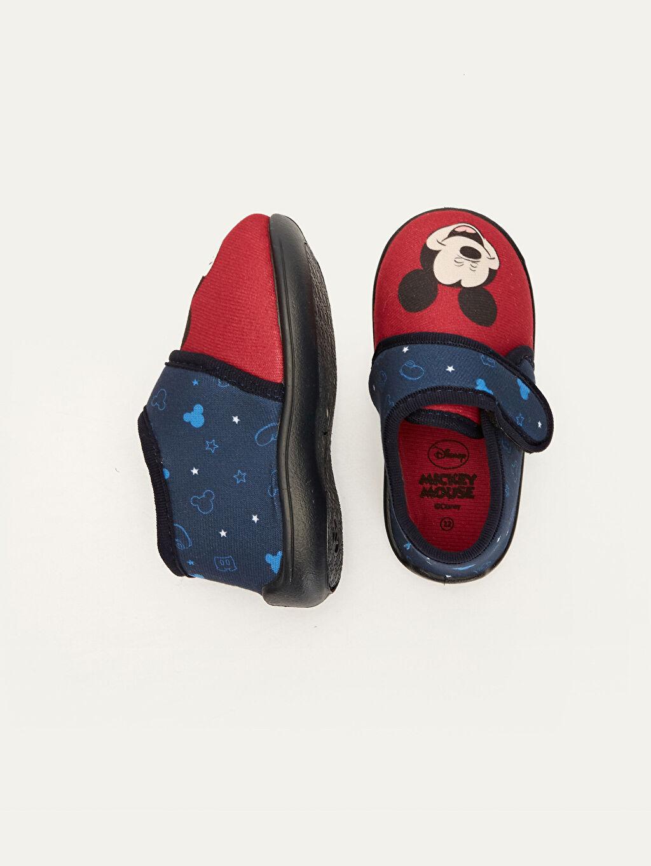 Tekstil malzemeleri Tekstil malzemeleri  Erkek Bebek Mickey mouse Baskılı Ev Ayakkabısı