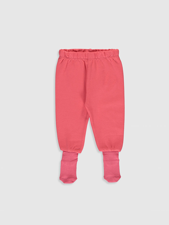 Kız Bebek Çoraplı Pijama Alt 2'li