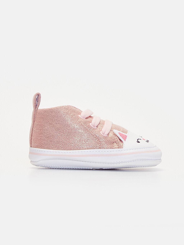 Pembe Kız Bebek Yürüme Öncesi Ayakkabı 9WG827Z1 LC Waikiki