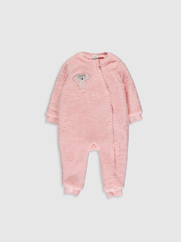 Pembe Kız Bebek Pelüş Tulum 9WH539Z1 LC Waikiki