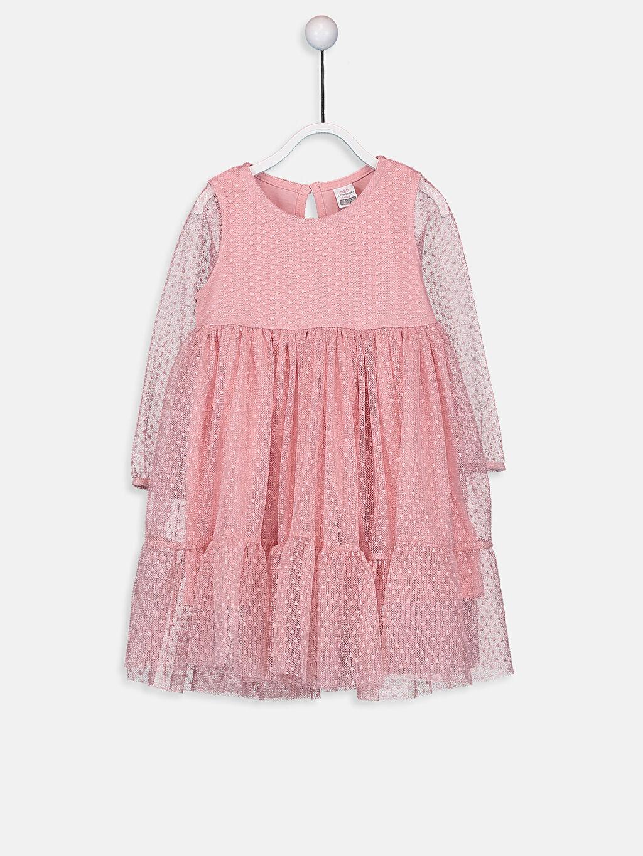 Pembe Kız Bebek Tül Elbise 9WI472Z1 LC Waikiki
