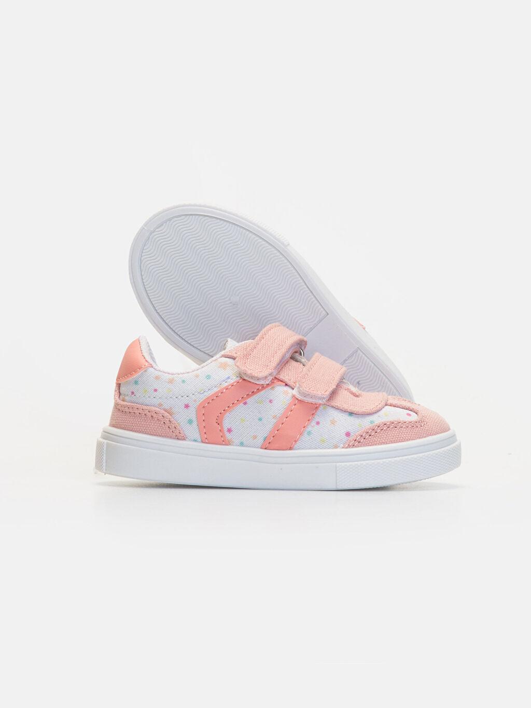 Kız Bebek Kız Bebek Cırt Cırtlı Spor Ayakkabı