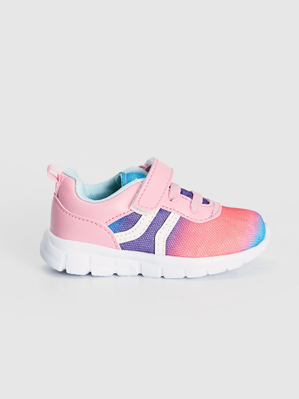 Çok Renkli Kız Bebek Kontrast Renkli Spor Ayakkabı 9WJ049Z1 LC Waikiki