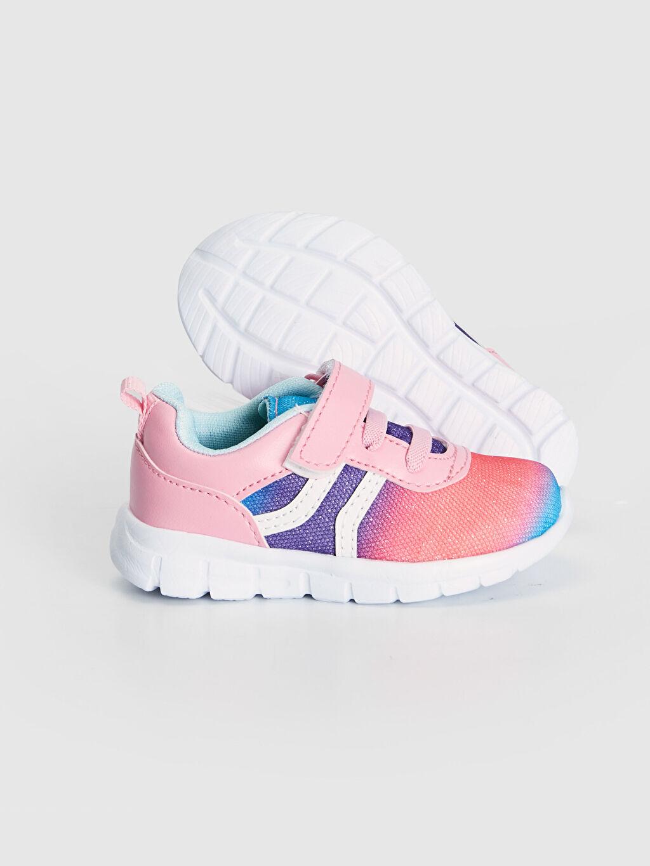 Kız Bebek Kız Bebek Kontrast Renkli Spor Ayakkabı