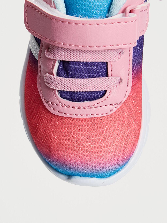 LC Waikiki Çok Renkli Kız Bebek Kontrast Renkli Spor Ayakkabı