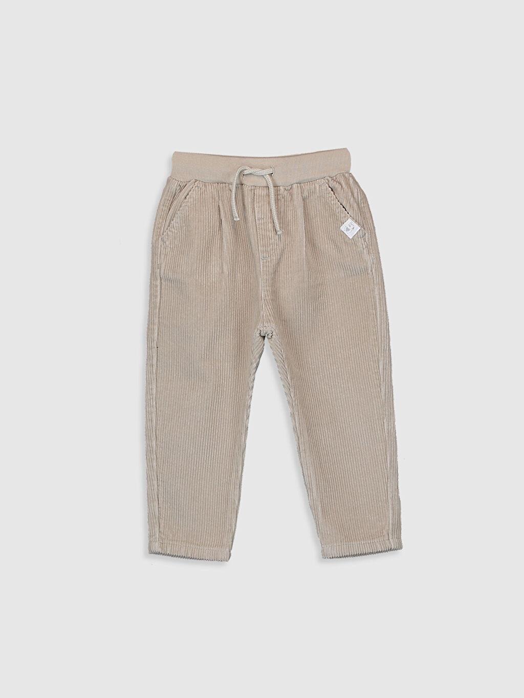 Bej Erkek Bebek  Pantolon 9WJ303Z1 LC Waikiki