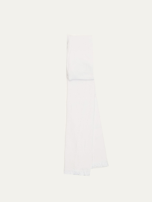 Beyaz Kız Bebek Külotlu Çorap 9WO693Z1 LC Waikiki