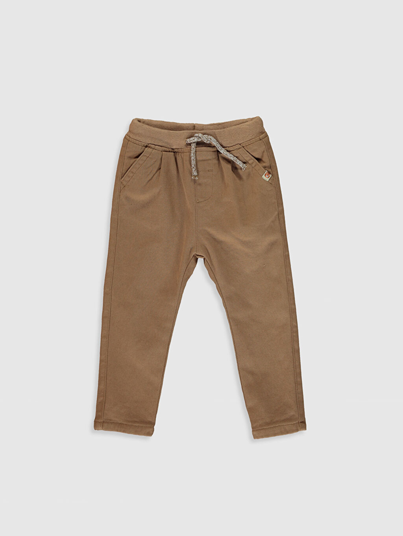 Kahverengi Erkek Bebek Pantolon 9WT003Z1 LC Waikiki