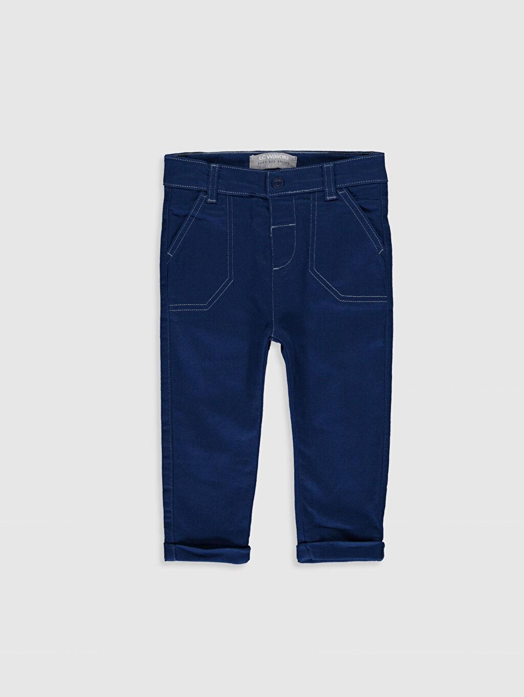 Lacivert Erkek Bebek Gabardin Pantolon 9WT476Z1 LC Waikiki