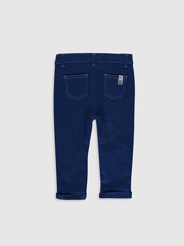 %97 Pamuk %3 Elastan %49 Pamuk %51 Polyester Normal Erkek Bebek Gabardin Pantolon