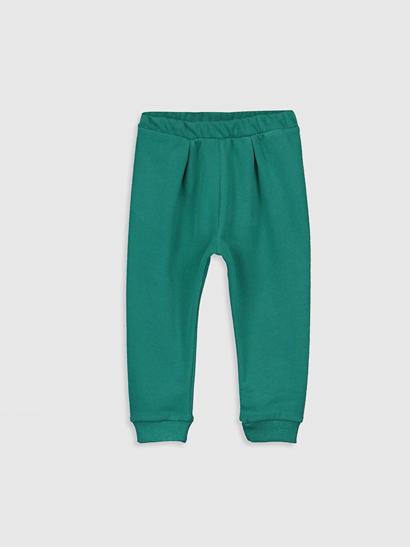 Turkuaz Kız Bebek Jogger Pantolon 9WU549Z1 LC Waikiki