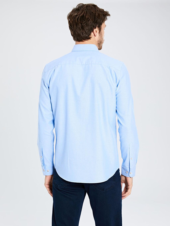 %100 Pamuk Regular Fit Basic Gömlek