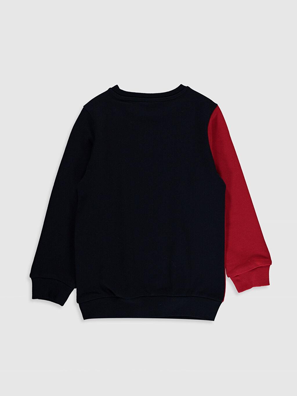 %100 Pamuk  Aile Koleksiyonu Erkek Çocuk Baskılı Sweatshirt