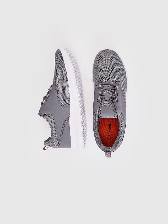 %0 Diğer malzeme (pvc) %0 Tekstil malzemeleri (%100 poliester)  Erkek Aktif Spor Ayakkabı