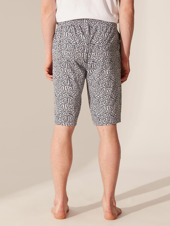 %49 Pamuk %51 Polyester Standart Kalıp Desenli Pijama Altı