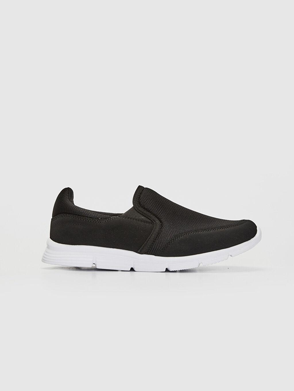 Siyah Erkek Slip On Aktif Spor Ayakkabı 0S4309Z8 LC Waikiki