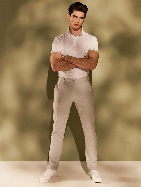 Gri Slim Fit Basic Pantolon 0S4759Z8 LC Waikiki