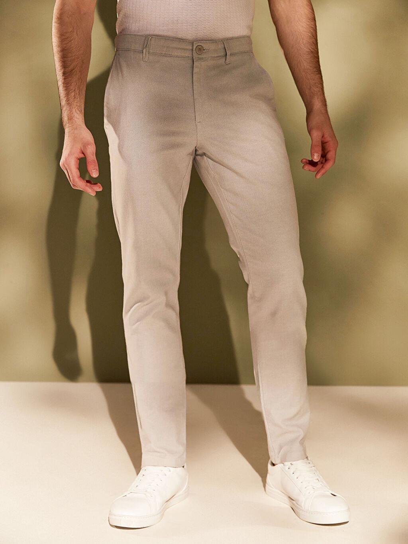 Erkek Slim Fit Basic Pantolon