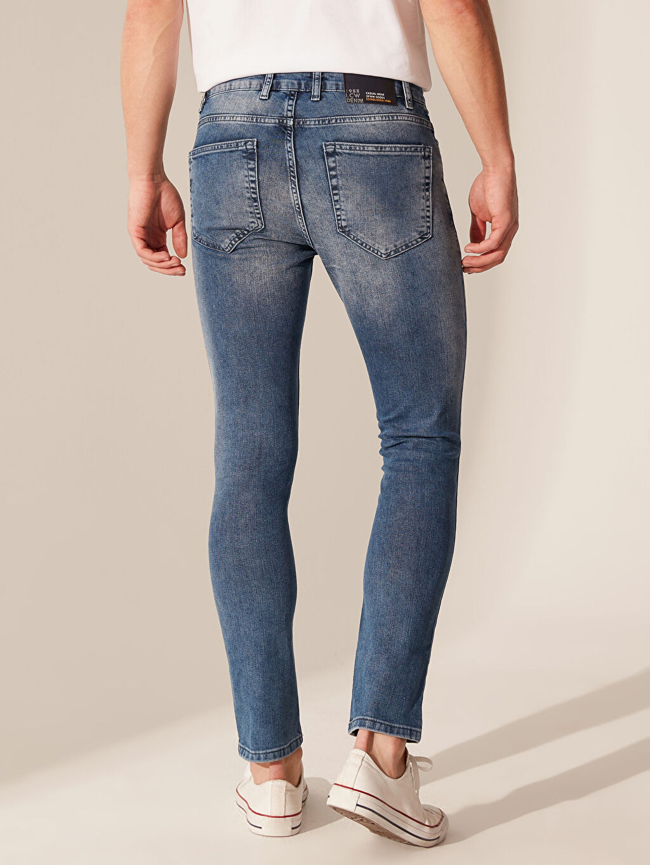 %84 Pamuk %14 Polyester %2 Elastan 760 Skinny Fit Jean Pantolon