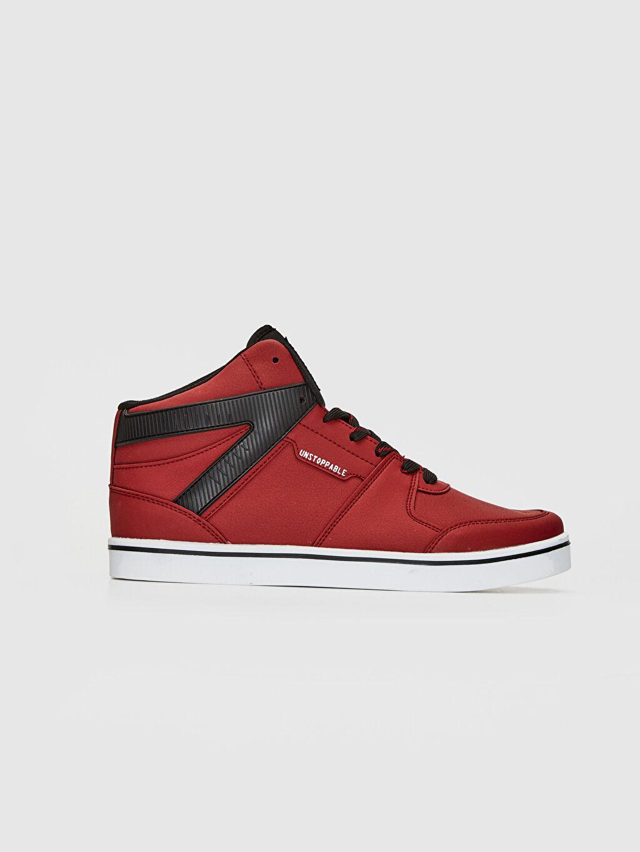 Kırmızı Erkek Günlük Bilekli Sneaker 0S6248Z8 LC Waikiki