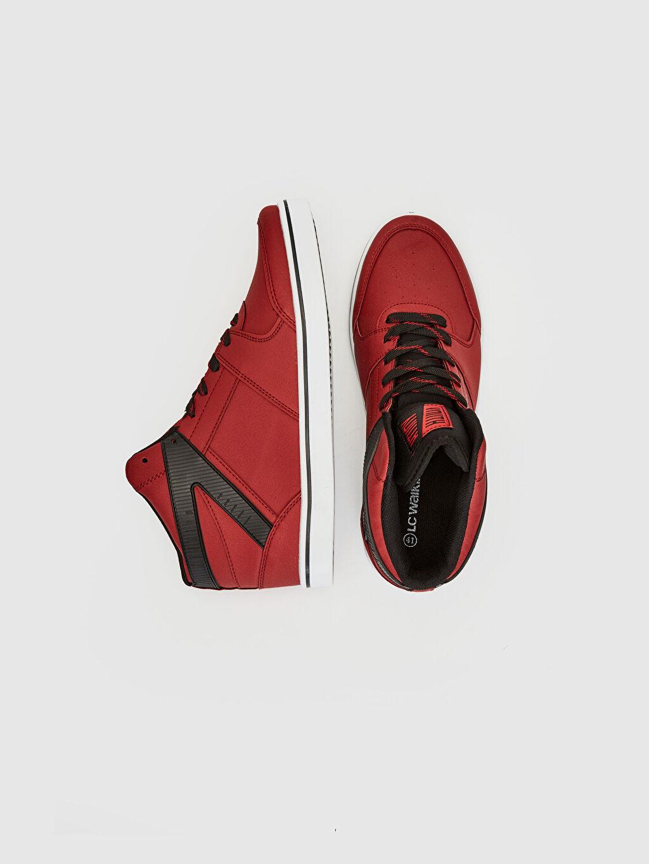 %0 Diğer malzeme (pvc) %0 Tekstil malzemeleri (%100 poliester) Penye Astar Standart Bağcık EVA Günlük Düz Sneaker Erkek Günlük Bilekli Sneaker
