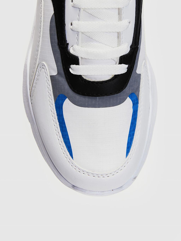 LC Waikiki Beyaz Erkek Renk Bloklu Sneaker