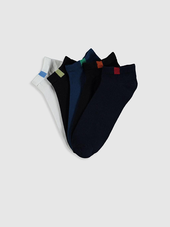 Çok Renkli Patik Çorap 5'li 0S6395Z8 LC Waikiki
