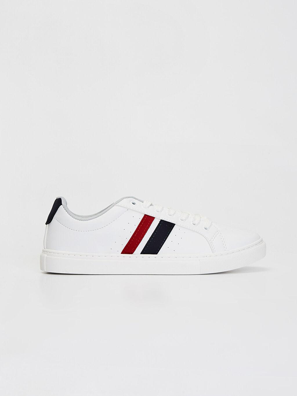 Beyaz Erkek Günlük Sneaker Ayakkabı 0S6405Z8 LC Waikiki
