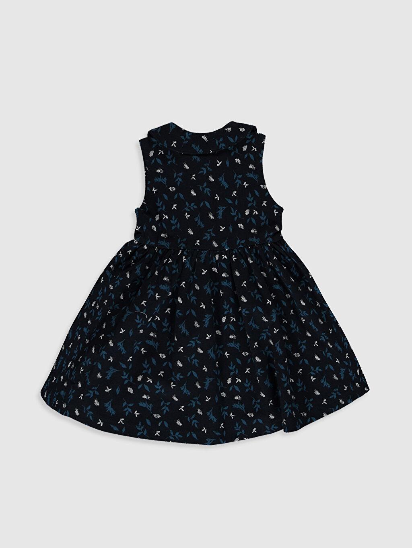 %100 Pamuk Desenli Kız Bebek Desenli Elbise
