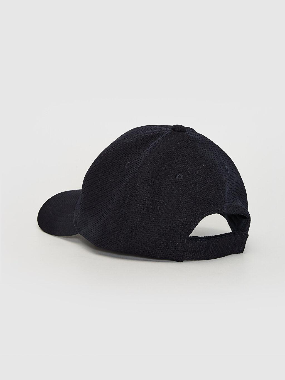 Erkek Yazı Nakışlı Şambre Şapka