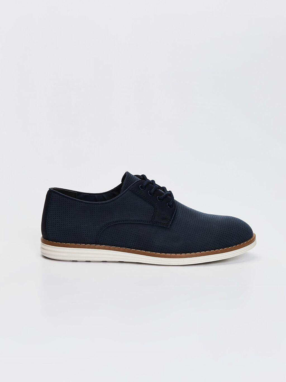 Mavi Erkek Klasik Derby Ayakkabı 0SG901Z8 LC Waikiki