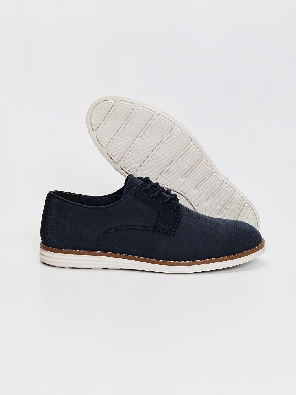 Diğer malzeme (pvc) Günlük Koku Yapmayan İç Taban Düz Hafif Penye Astar Standart Bağcık Klasik Ayakkabı Erkek Klasik Derby Ayakkabı