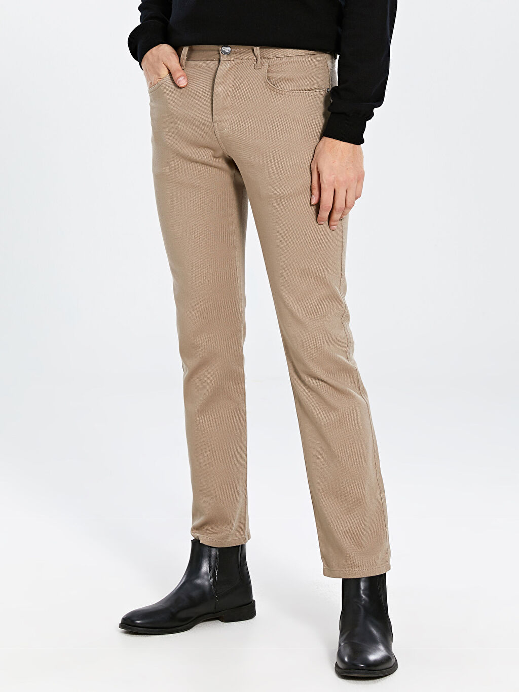 Erkek Regular Fit Gabardin Pantolon