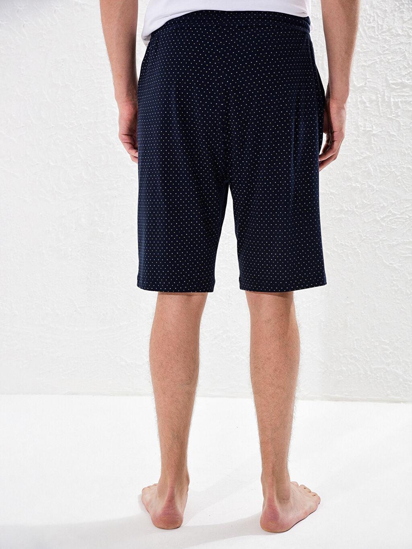 %100 Pamuk Standart Kalıp Desenli Pijama Altı