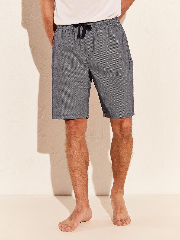 Erkek Standart Kalıp Şort Pijama Altı