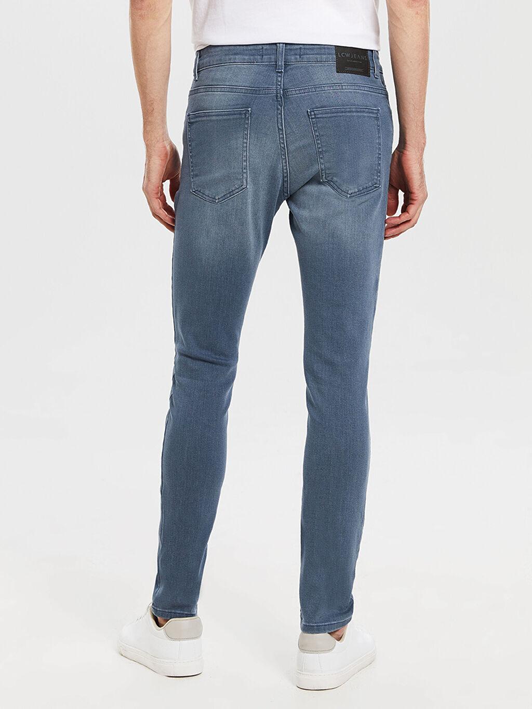 %86 Pamuk %12 Polyester %2 Elastan 770 Super Skinny Fit Jean Pantolon