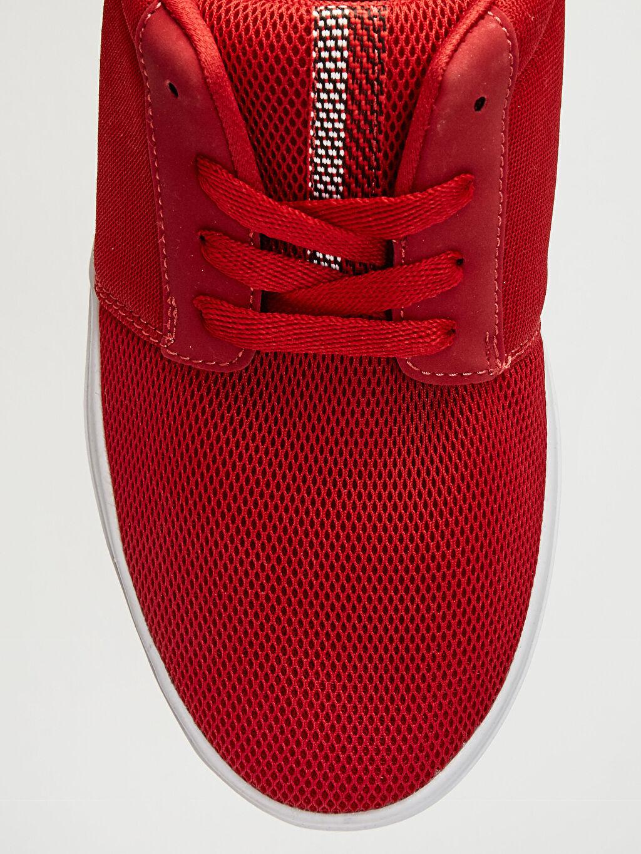 LC Waikiki Kırmızı Erkek Bağcıklı Günlük Ayakkabı