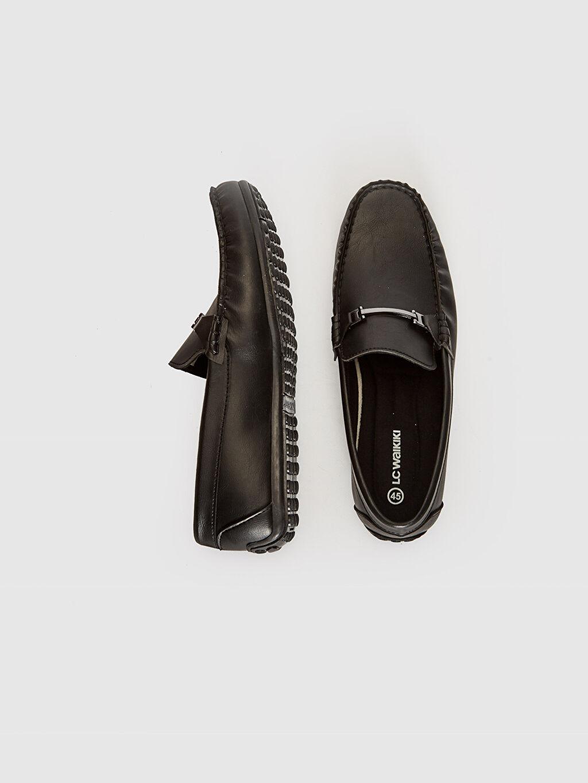Diğer malzeme (pvc) Klasik Ayakkabı Hafif Dokuma Astar Standart Günlük Bağcıksız Düz Erkek Makosen Ayakkabı