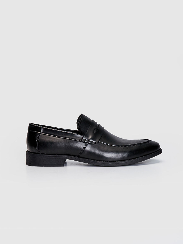 Siyah Erkek Klasik Loafer Ayakkabı 0SN493Z8 LC Waikiki