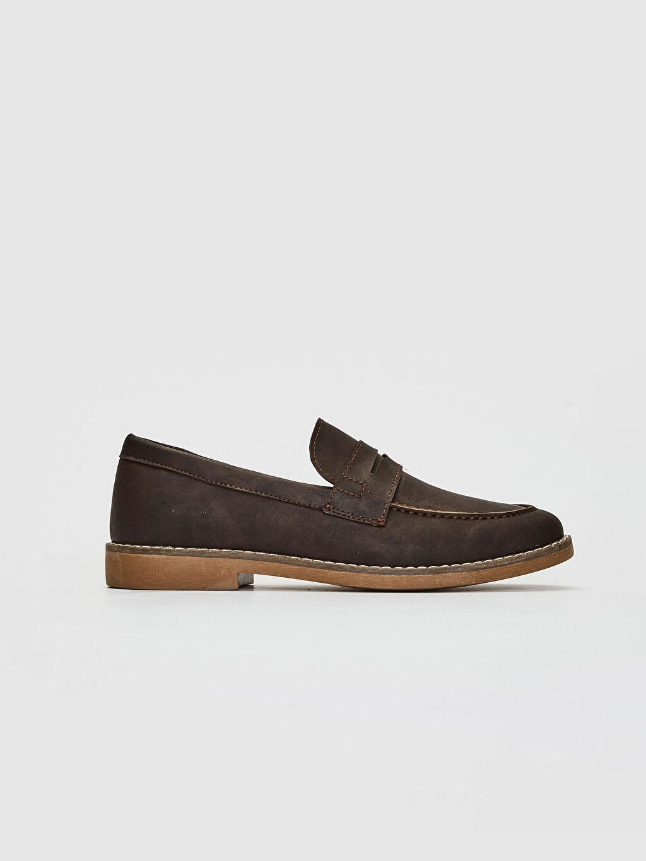 Kahverengi Erkek Klasik Loafer Ayakkabı 0SA113Z8 LC Waikiki