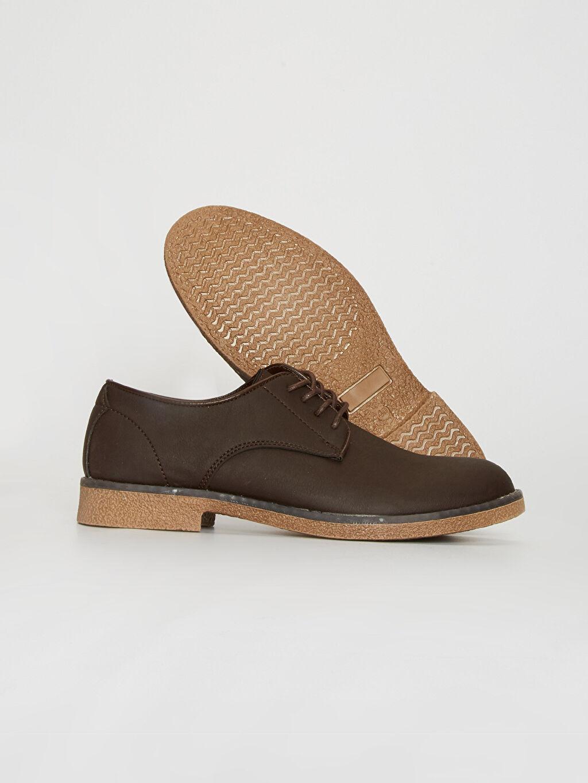 Erkek Erkek Bağcıklı Klasik Derby Ayakkabı